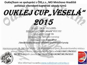 OuklejCup Vesela 2015_plakat